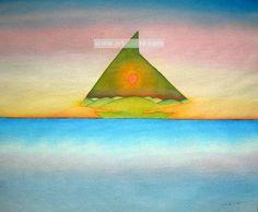 Painting by Jean-Michel Folon (Belgian) Statues, Magritte, Psychedelic Art, Pattern Wallpaper, Les Oeuvres, Art Nouveau, Cartoons, Watercolor, Illustrations