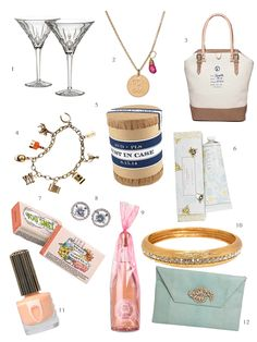 Some Of Our Favorite Wedding Party Gifts BridesmaidGifts