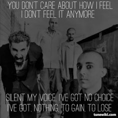 "-- #LyricArt for ""ATWA"" by System Of A Down"