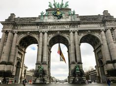 The Triumphal arch in the Jubelpark in Brussels resembles in some ways Arc de triomphe de l'étoile in Paris and Brandenburger Tor in Berlin.  Have you seen a similar gate in Europe? Maybe it's the same architect?  The gate in Brussels is a part of Les Arcades du Cinquantenaire.  The park is quiet and nowadays the arcades are different museums.  #triomfboog #jubelpark #cinquantenaire #museum #brussels #danishadventurer