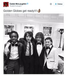"""And how handsome are they? 