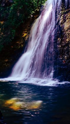 Nature, waterfall, water current, 720x1280 wallpaper