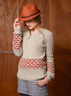 Cat. 13/14 - #720 - Sweater | Buy, yarn, buy yarn online, online, wool, knitting, crochet | Buy Online