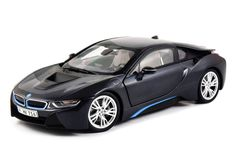 BMW i8 frozen grey 1:18 scale diecast model car by Paragon. Get it now at GeekingBad for $169.95 with free shipping.
