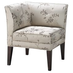 Isabella Corner Accent Chair - this would go perfect in my bedroom.