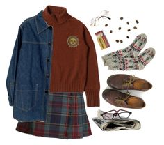 """sun"" by paper-freckles ❤ liked on Polyvore featuring Dr. Martens, Chanel and Retrò"