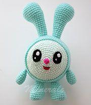 Minerale Toys - Крошик (Малышарики) Crochet Bunny, Crochet Animals, Knitted Dolls, Crochet Dolls, Crochet Monsters, Crochet Amigurumi Free Patterns, Crochet Gifts, Amigurumi Doll, Handmade Toys