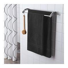 FRÄJEN Bath towel, black - IKEA