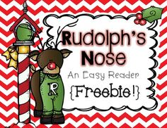 This is a cute easy reader that focusses on color words. Have your students color Rudolph& nose different colors as they read this book! Preschool Christmas, Christmas Activities, Preschool Winter, Christmas Games, Winter Activities, Christmas Crafts, Preschool Curriculum, Kindergarten Activities, Homeschool
