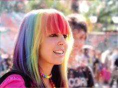 Maneras de llevar pelo del arco iris //  #arco #iris #llevar #Maneras #pelo