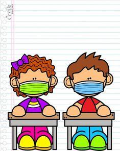Classroom Labels, School Classroom, Classroom Decor, School Border, Kindergarten Anchor Charts, Powerpoint Background Design, Nurse Art, Kids Background, School Murals