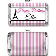 paris candy bar wrappers - Google Search