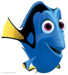 """Just Keep Swimming"" became my cancer mantra.  I so love Dory....so much that a tattoo of her now sits upon my left shoulder!"