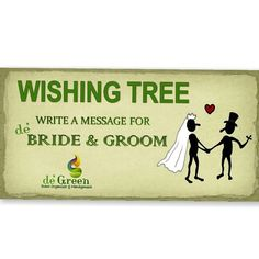 Lost of hopes and lost of dreams.not all will come true, but completely inspiring nonwtheless. Wishing tree sign Write a messege for BRIDE & GROOM  #weddingcelebration #weddingparty #weddingorganizer #organizer #degreenorganizer #degreen #personalize #wishingtree #wishingtrees #handmade #hope #tree #sign #reception #2014 #weddingoutdoor #outdoorparty #party #instaparty #celebration #indoor #outdoor #bride #groom #brideandgroom #indonesia   For more info contact us  087885416504 08119202102…