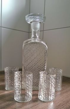 Nanny Still, Flindari carafe and shot glasses