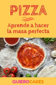 Aprende a hacer la masa para pizza perfecta Pizza Hut, Pizza Dough, Meatloaf Recipes, Pizza Recipes, Snack Recipes, Berry Smoothie Recipe, Easy Smoothie Recipes, Sauce Pizza, Canned Blueberries