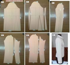 Conversion from one-piece to two-sleeve sleeve // Enrico Baittiner Sewing Dress, Sewing Sleeves, Dress Sewing Patterns, Sewing Clothes, Clothing Patterns, Diy Clothes, Tailoring Techniques, Techniques Couture, Sewing Techniques