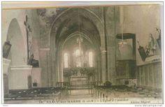 SAACY-sur-MARNE (Seine et Marne) - L'Eglise à l'intérieur