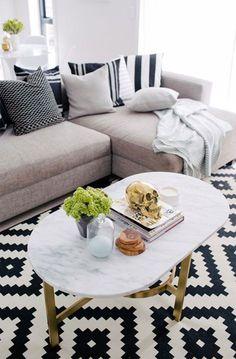 Cool LAPPLJUNG RUTA rug spotted. #IKEAFurnitureSpotting