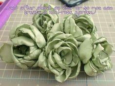 How Does Your Garden Sew? Part I: Garden Roses :  wedding diy flowers ithaca tutorial Locket12 locket12