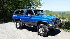 Chevy Blazer K5, K5 Blazer, Chevy 4x4, Chevy Trucks, Best Blazer, Grey Exterior, Show Trucks, Car Parts, Classic Cars