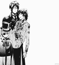 SPOILER TIME :) Sebastian Michaelis, Ciel Phantomhive, Soma Asman Kadar | jesus what is happening...