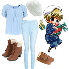 """Hetalia finland!!"" by stephihunt on Polyvore"
