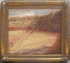 Olé La Pintura, 2015 Óleo sobre tela 70 x 80 cm. Colección privada
