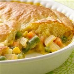 Impossibly Easy Chicken Pot Pie Allrecipes.com