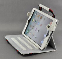Tenmile offer LiViTech(TM) New Portable Fabric Handbag Stand Case Cover Skin for Apple iPad Mini (White). This awesome product currently limited units, you can buy it now for  $12.99, You save - New