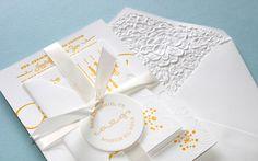 Alison and Gary Wedding Invitation  ---  Production Method  Letterpress  ---  Design  Lowercase a: Design Studio  ---  Printing  Ali Crouch