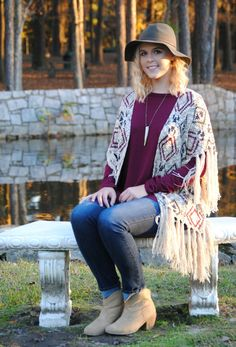Tribal Vibes Cardigan – Downtown Betty Boutique