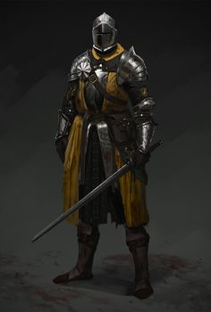 Mustard knight, Evgeniy Petlya on ArtStation at https://www.artstation.com/artwork/rPmW6?utm_campaign=digest&utm_medium=email&utm_source=email_digest_mailer