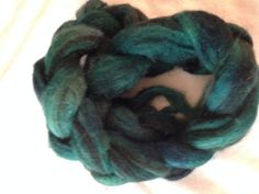 BFL Wool Hand Dyed Spinning Fiber Felting Fiber from by herie7, $16.00