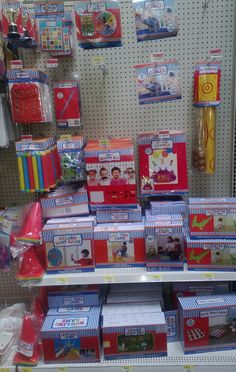 Great Carnival Birthday selection at Walmart  right now (May 2013) Wish they would have had this last year.