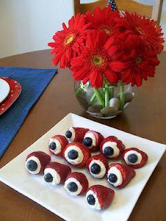 """healthy """"eye"""" treats for halloween!"""