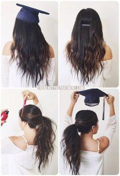 the BEST graduation hair hack