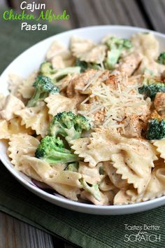 I was thinking it's about time for another awesome 30-minute-meal post here on the blog! Sooooo…..I give you this super easy, super yummy Cajun Chicken Alfredo Pasta! Remember awhile back when I shared this Creamy Chicken and Asparagus Pasta recipe (which also happens to be a 30-minute-meal!)? Well, it was so well received that I... Read More »