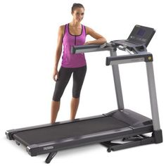 "Second to none, the TR7000i commercial treadmill has redefined performance-grade quality. Elite in every category, these commercial grade treadmills pack a 3.5 hp AC motor, durable steel construction, and every premium feature your training program demands. The 22"" by 62"" running deck permits full, athletic strides, while four impact-absorbing shocks replicate real-world environments that are gentle on your knees, back, and joints. With Bluetooth technology built directly into the console…"