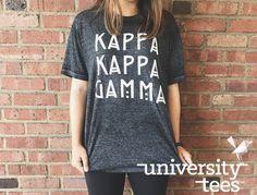 You had me at Kappa I Kappa Kappa Gamma I Made by University Tees I universitytees.com I Apparel Designs | Custom Greek Apparel | Sorority T-Shirts | Sorority Shirt Designs I Greek T-shirts I Greek Life