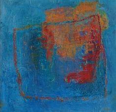 Acryl på duk 20x20 cm Margit Allansdotter