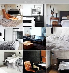 Style by Emily Henderson - 1 Bed 4 Ways: Masculine Clean Modern - Inspiration