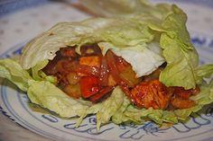 Chinesische Eisbergpäckchen mit Hühnerfleisch (7 PP)