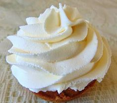Stuffed At the Gill's: Whipped Cream Frosting. . . 3 Ways -- the vanilla whipped cream frosting came out nice and light with a hint of vanilla and was very rich! Maybe use a less rich cupcake recipe in the future lol!