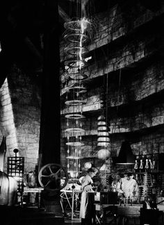 Dr. Frankenstein's laboratory in TheBride of Frankenstein(1935, dir. James Whale)