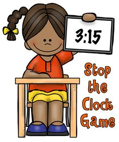 Active engagement strategies to use with the free online Stop the Clock game.