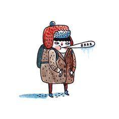 Brrr  Gemma Correll