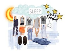 """""""Assortment of PJs"""" by runmaestrorun on Polyvore featuring Alfani, adidas, Kensie, Sincerely, Jules, Charter Club, Old Navy, Jockey, Gap, Bedroom Athletics and Havaianas"""