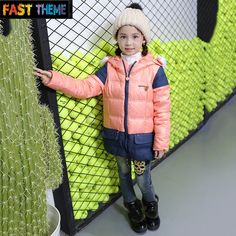 Find More Down & Parkas Information about down jacket warm coat and jeans wholesale children zipper stitching hooded girls down jacket1303,High Quality jacket warm,China jacket fox Suppliers, Cheap jacket honda from FT Children Clothes Store on Aliexpress.com Cheap Winter Coats, Girls Winter Coats, Winter Jackets, Down Parka, Down Coat, China Girl, Children Clothes, Warm Coat, Honda