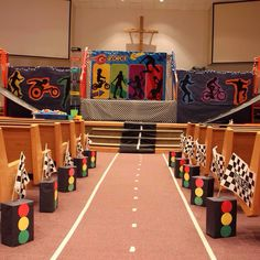 G force vbs stage